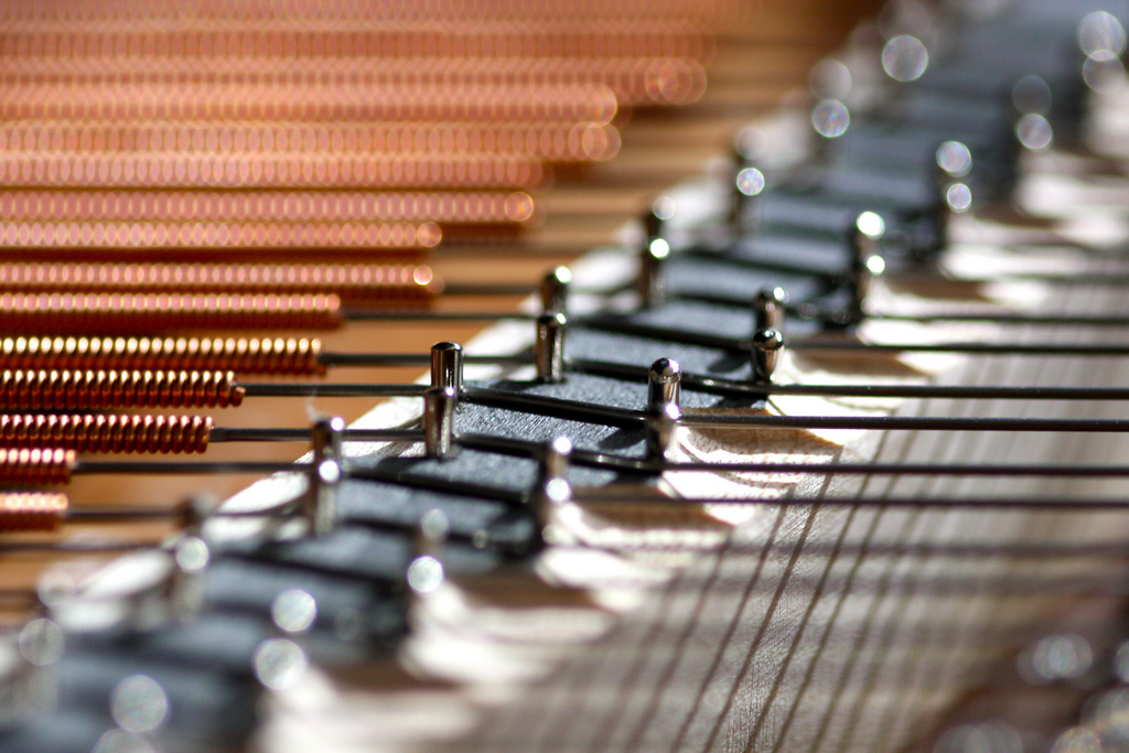 Piano Strings, by Kevin Dooley -- on Flickr -- CC2.0 SA